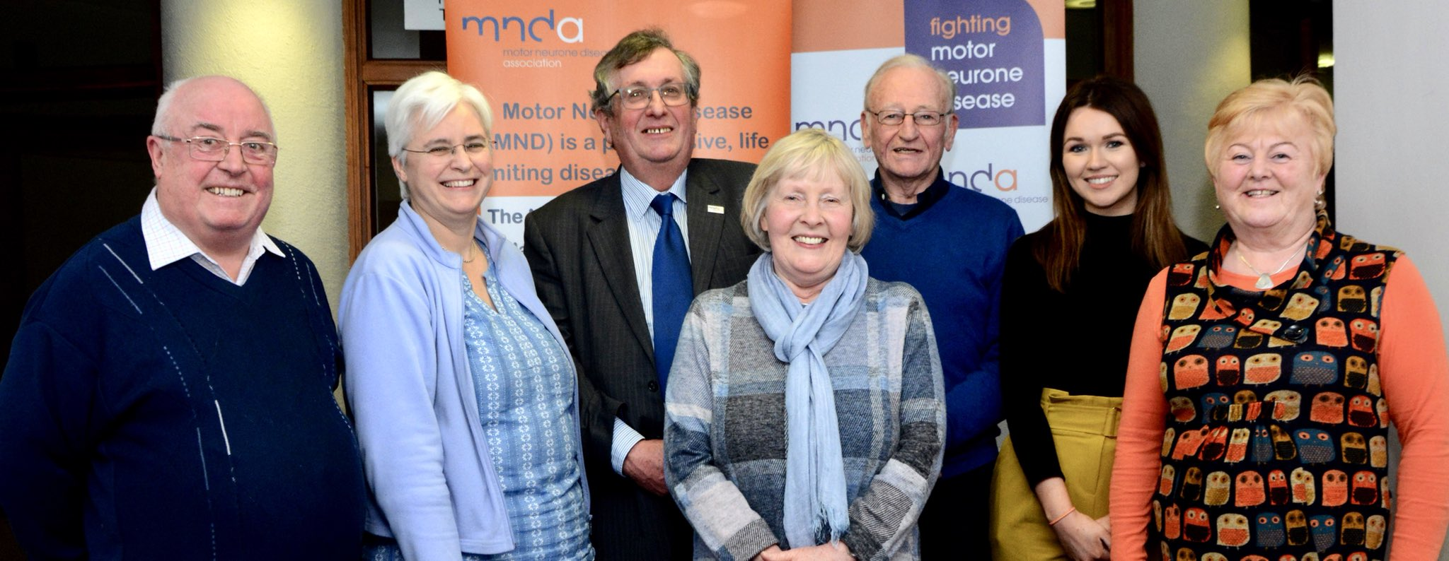 Some members of the MNDA NI Branch Committee