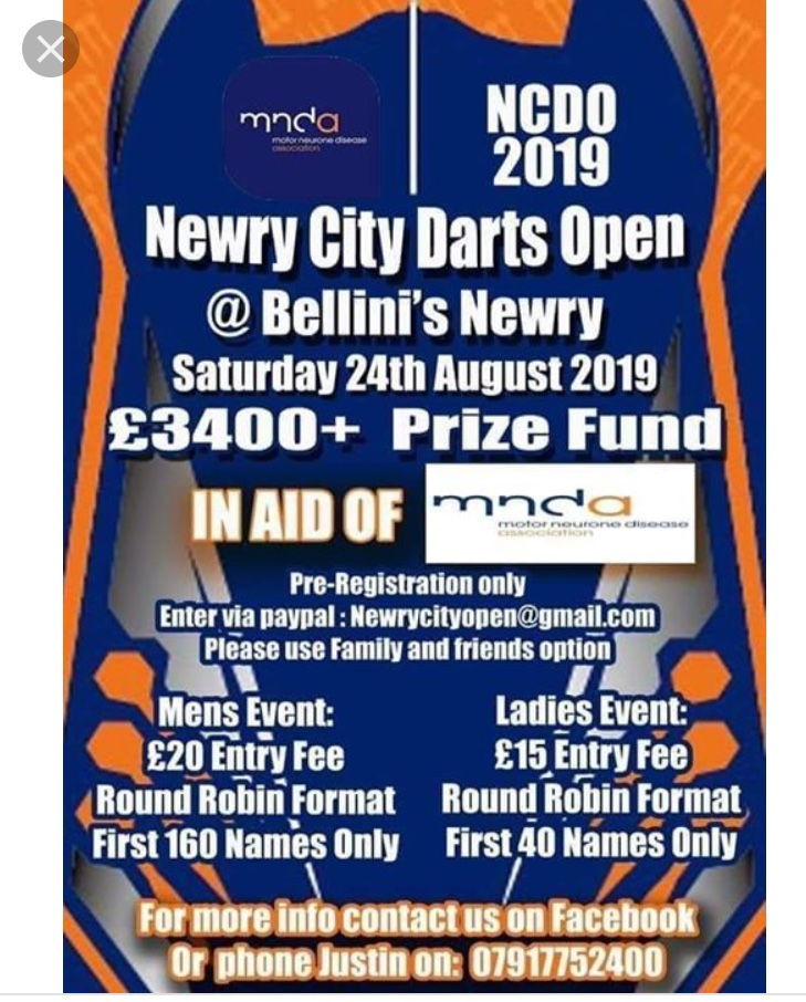 Newry City Darts Open