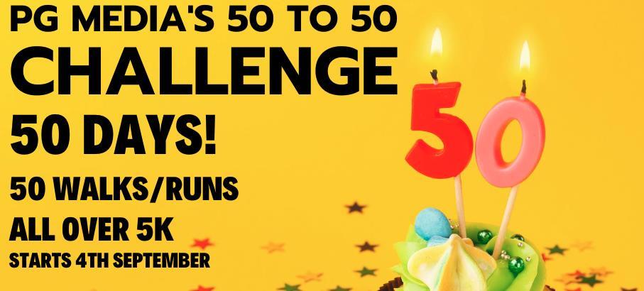 Gerard Mulhern's 50 to 50 Challenge